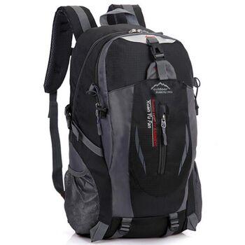 Рюкзак туристический TakeCharm, черный 0869