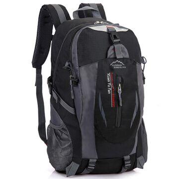 Рюкзак туристический TakeCharm, черный П0869