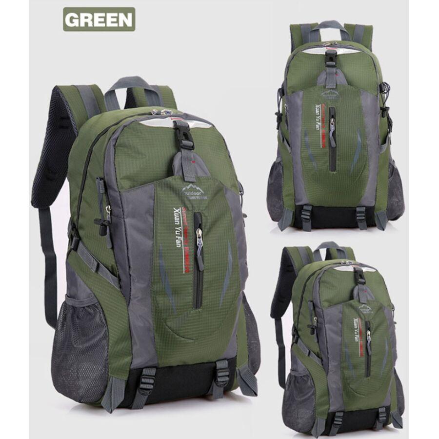 Мужские рюкзаки - Рюкзак туристический TakeCharm, зеленый 0870