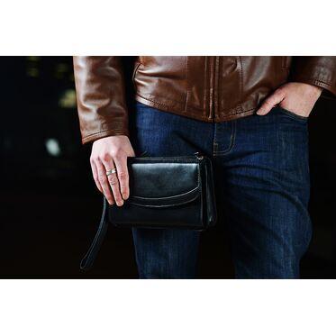 Мужские барсетки: как выбрать и с чем носить